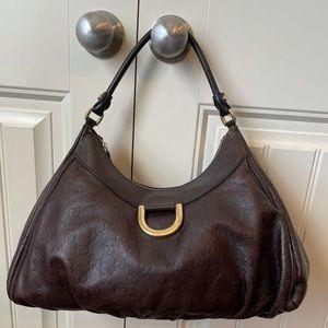 Authentic Gucci Guccissima hobo bag